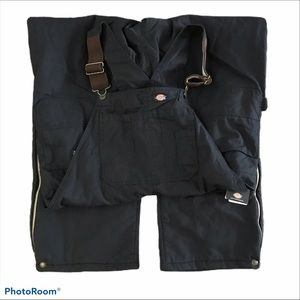 Dickies Sanded Duck Insulated Bib 2XLT